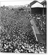 Soccer Crowd At Highbury Canvas Print