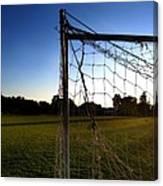 Soccer Sunset Canvas Print