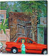 Society Street Afternoon Canvas Print