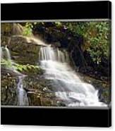 Soco Falls Small Cascade North Carolina Canvas Print