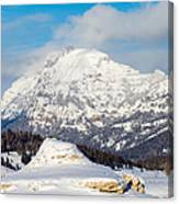 Soda Butte Canvas Print