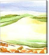 Sodom Found Canvas Print