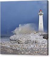 Sodus Bay Lighthouse Canvas Print