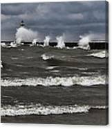 Sodus Waves Canvas Print