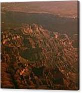 Soft Early Morning Light Over The Grand Canyon 3 Canvas Print