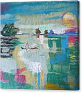 Soft Evening Glow Canvas Print