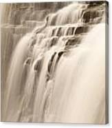 Soft Flow Canvas Print