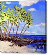 Soft Seabreeze Canvas Print