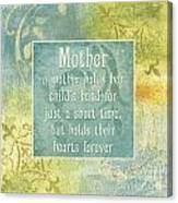 Soft Spa Mother's Day 1 Canvas Print