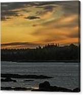 Soft Sunrise Canvas Print
