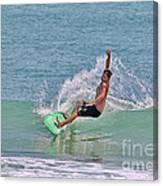 Soft Surf Canvas Print