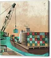 Software Export Canvas Print