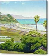 Solana Beach California Canvas Print