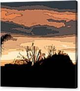 Solana Beach Sunset 2 Canvas Print