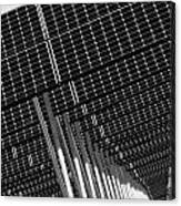 Solar City Canvas Print