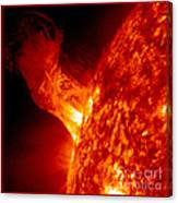 Solar Eruption Canvas Print