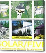 Solar Five Canvas Print