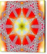 Solar Lava Canvas Print