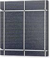 Solar Panel Collector Closeup View Canvas Print