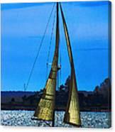 Solar Sail Canvas Print