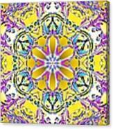 Solar Sunstar Canvas Print