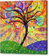 Solar Tree Canvas Print