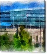 Soldier Field Chicago Photo Art 01 Canvas Print