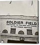 Soldier Field Canvas Print