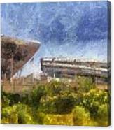 Soldier Field West Side Photo Art 02 Canvas Print