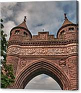 Soldiers And Sailors Memorial Arch Canvas Print