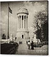 Soldiers Memorial - Ny - Toned Canvas Print
