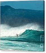 Sole Surfer Canvas Print