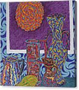 Soleil De Puteaux  Canvas Print