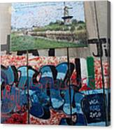 Solidarity With Palestine Canvas Print