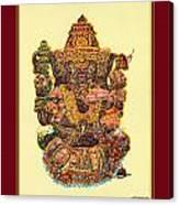 Solitaire Vinayak Canvas Print