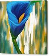 Solitary Blue Canvas Print