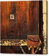 Solitary Confinement Door Canvas Print