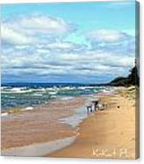 Solitude Beach Canvas Print