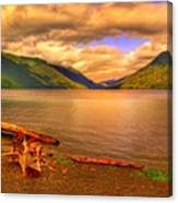 Solitude On Crescent Lake Canvas Print