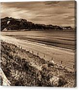 Solitude Sepia Canvas Print