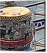Solo Drum Hdr Canvas Print