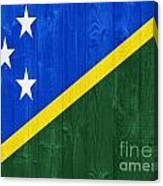 Solomon Islands Flag Canvas Print