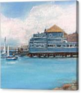 Soma's Restaurant  Canvas Print