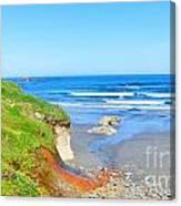 Some Beach Colors Canvas Print