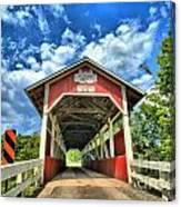 Somerset Pa Glessner Bridge Canvas Print