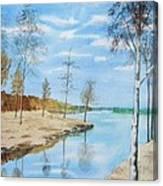 Somewhere In Dalarna Canvas Print