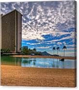 Somewhere In Honolulu Canvas Print