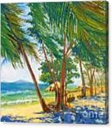 somewhere in Thailand 1 Canvas Print