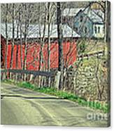 Somewhere In Vermont Canvas Print