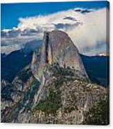 Somewhere Over Half Dome Canvas Print